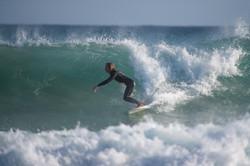 Seppi in der Welle