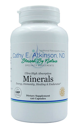 Mineral Capsules (Ultra High Absorption) 120s or 240s