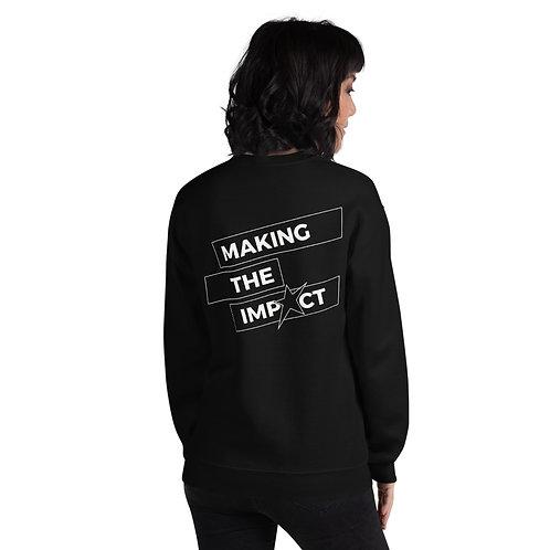 Making The Impact - Front/Back Crewneck Sweatshirt