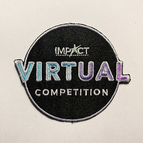 IDA Virtual Competition - Iron-On Patch