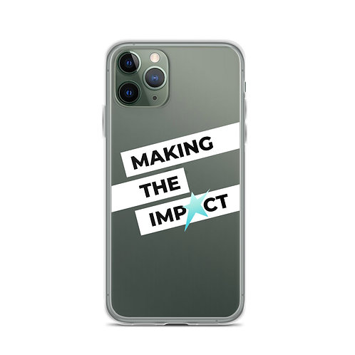 Making The Impact - Iphone Case
