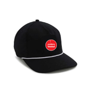 Boat Hat [Black w/Red MFF Icon]