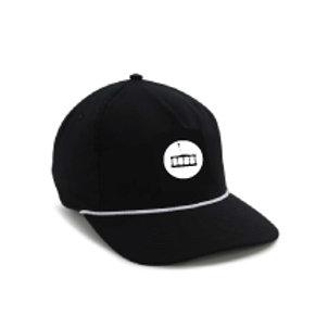 Boat Hat [Black w/White MFF Icon]