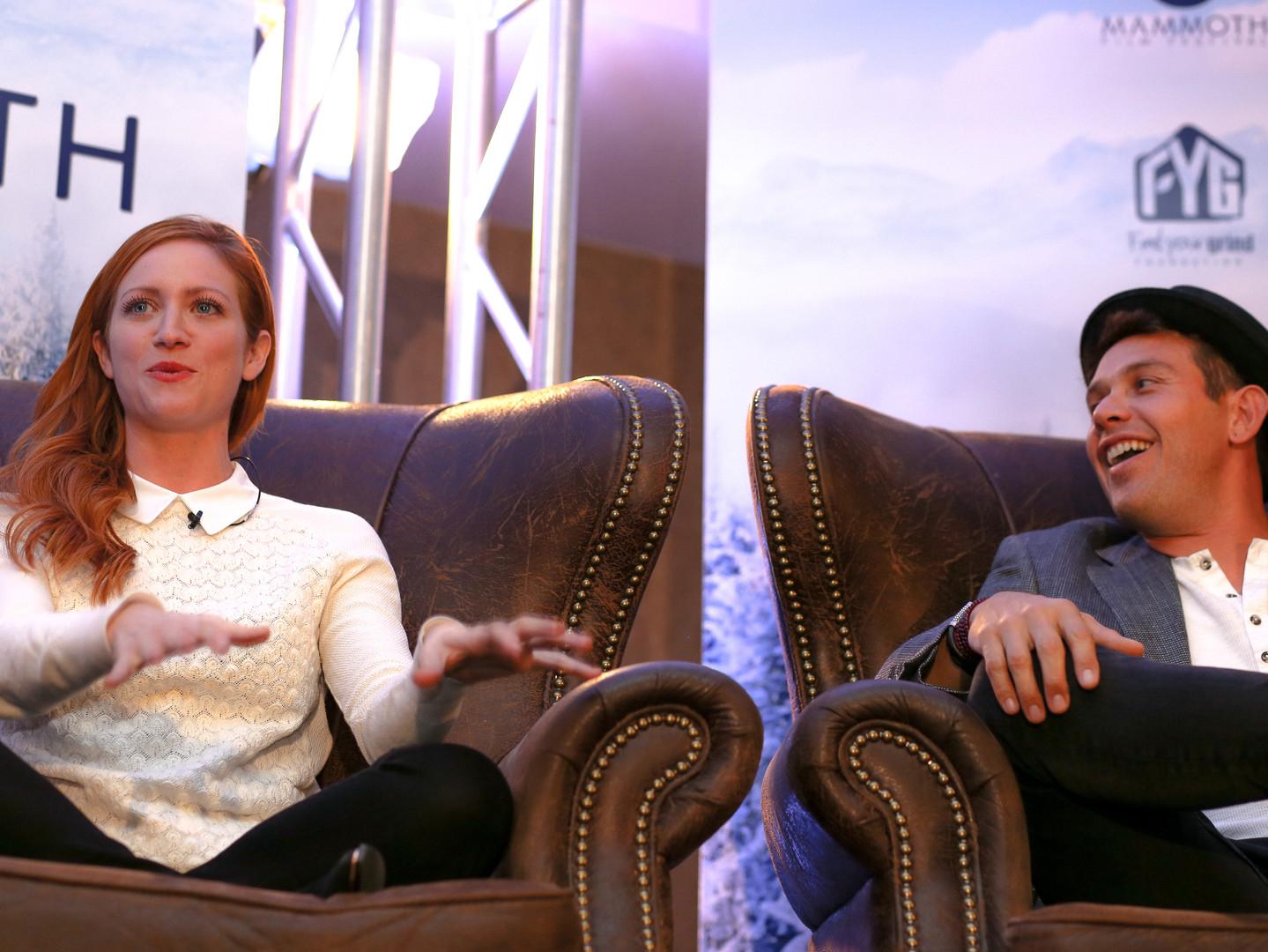 Brittany Snow & Kevin Alejandro
