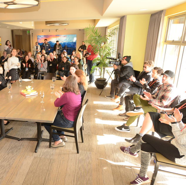 Round Table Conversastion With Women In Film