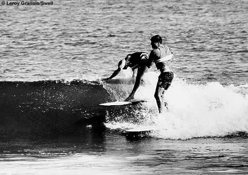 Dora on the water. Photo courtesy: Leroy Grannis.