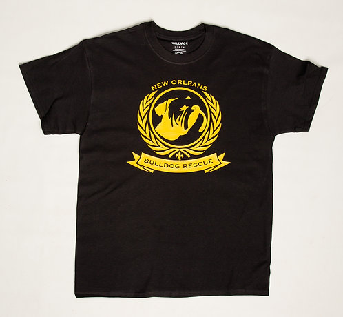 NOBR Black & Yellow Logo Men's T-shirt