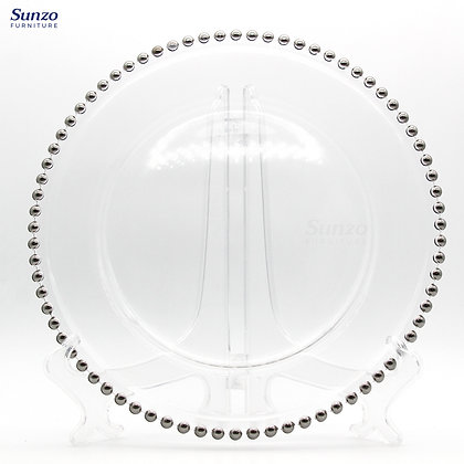 Glass Charger Plate SZ-3007