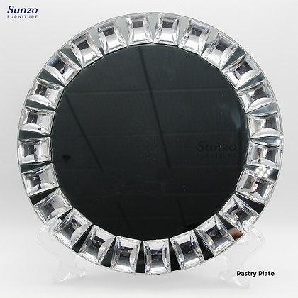 Wedding Glass  Charge Plates SZ-3033