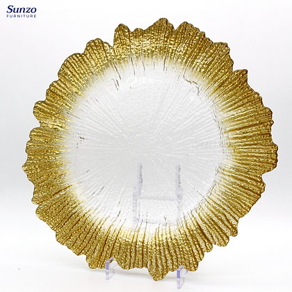 Glass Charger Plate SZ-3004TG