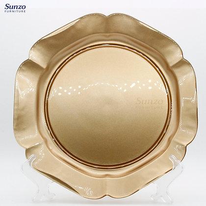 Wedding Glass   Charge Plates SZ-3020