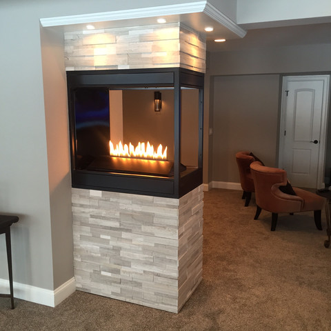 Zelich 3-sided Fireplace