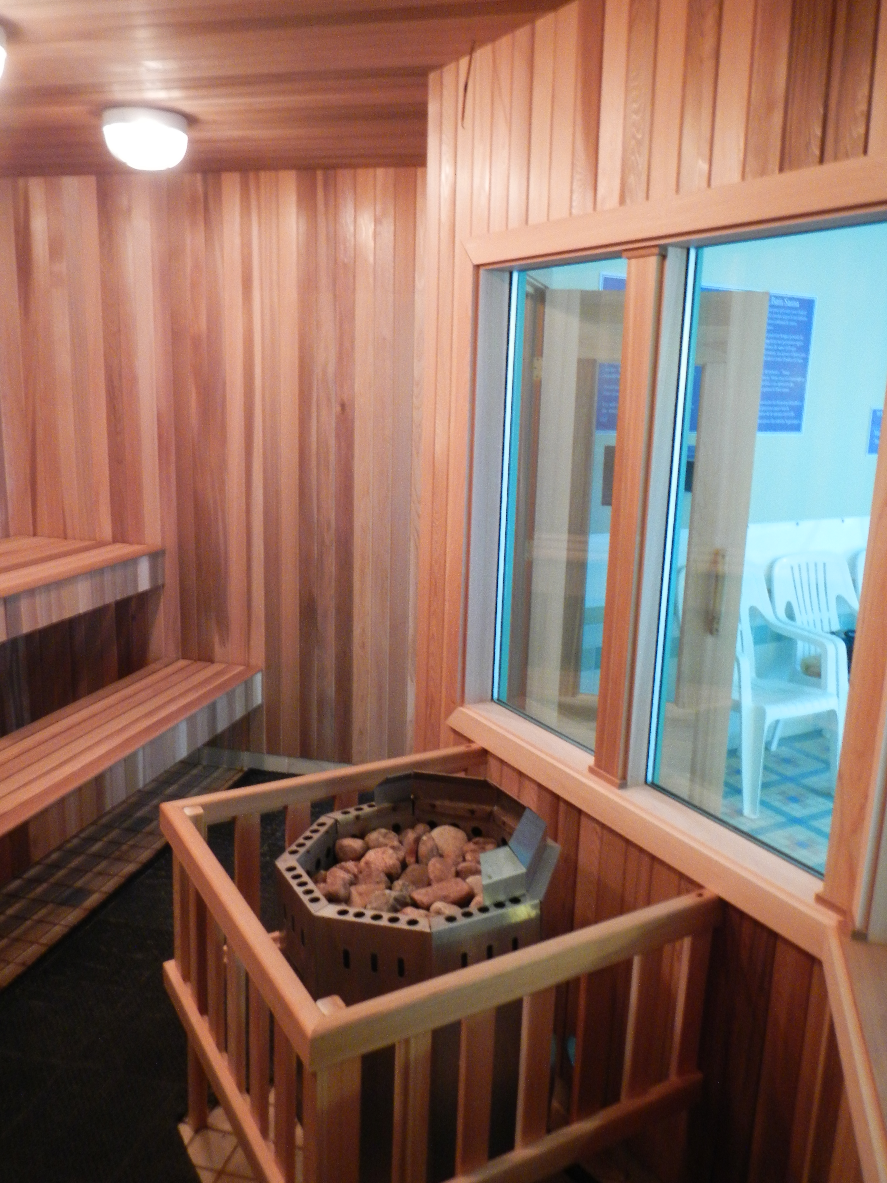 Sauna Windows