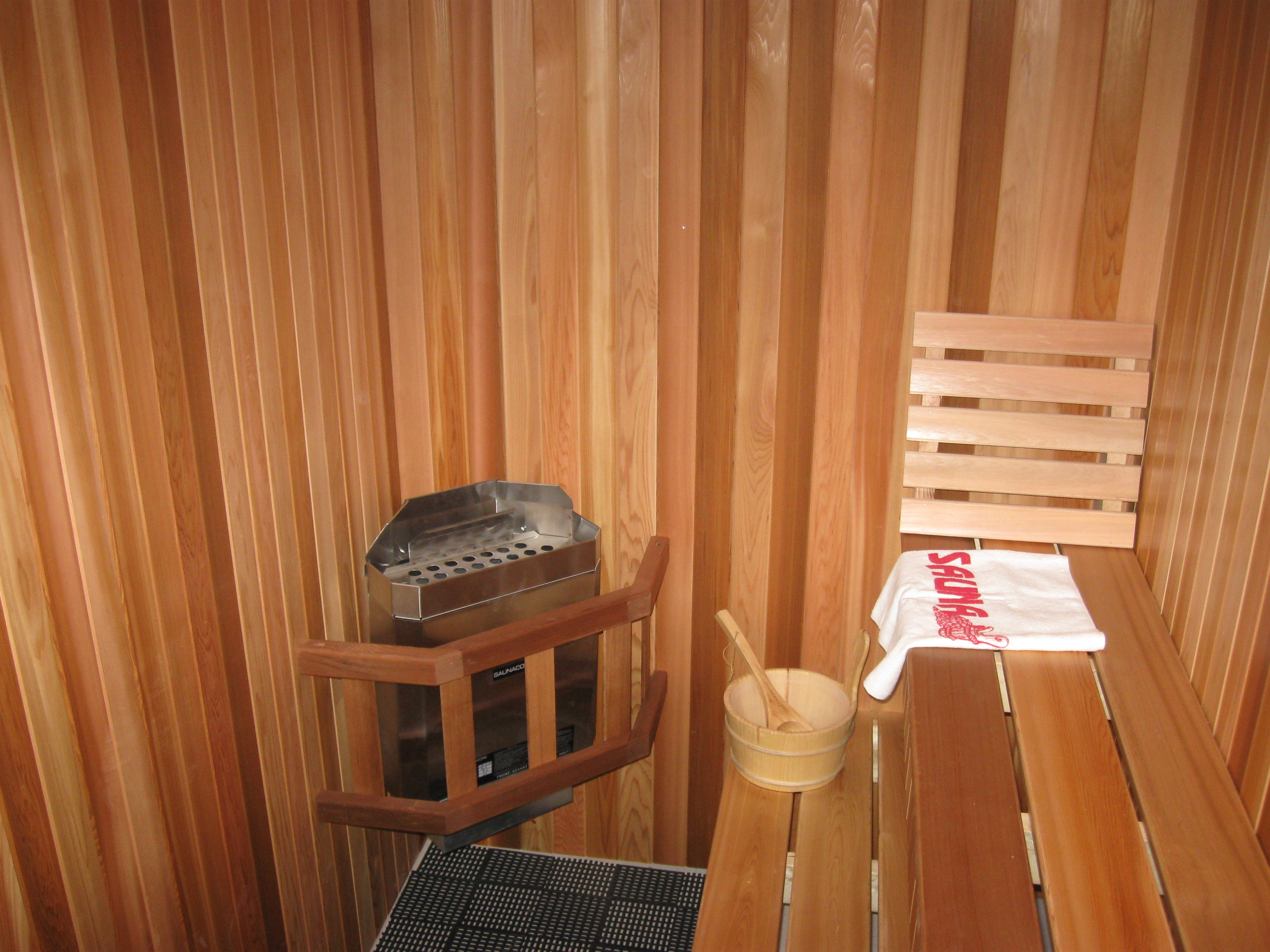 Traditional Sauna Installation