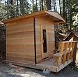 Prefabricated sauna