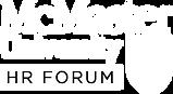 McMaster HR Forum