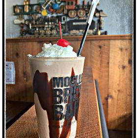 Peanut-butter whiskey-PB porter brew milkshake!!