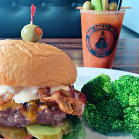 Bloody Mary Burger!
