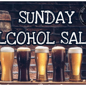 Sunday Alcohol Sales