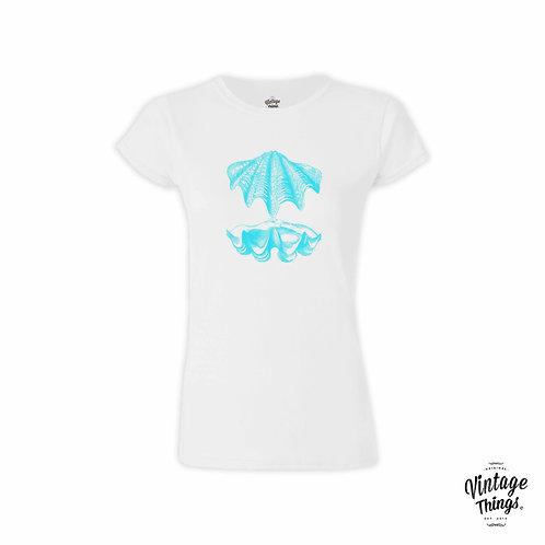 Shell - White - T-Shirt - Woman