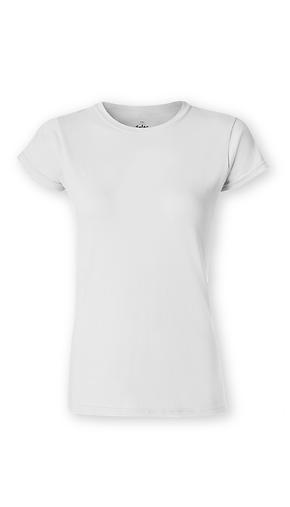 Classic T-Shirt - White - Blank - Woman - Custom