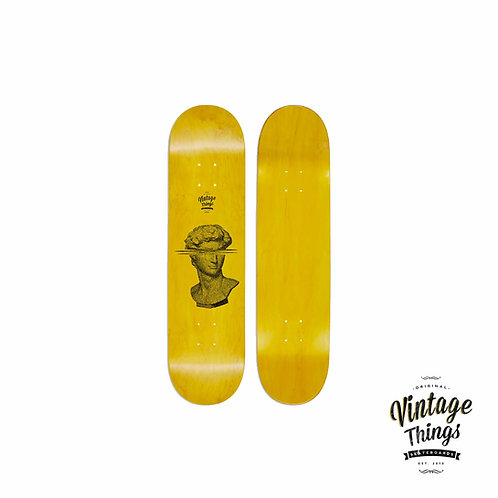 Glitched Bust - Skateboard