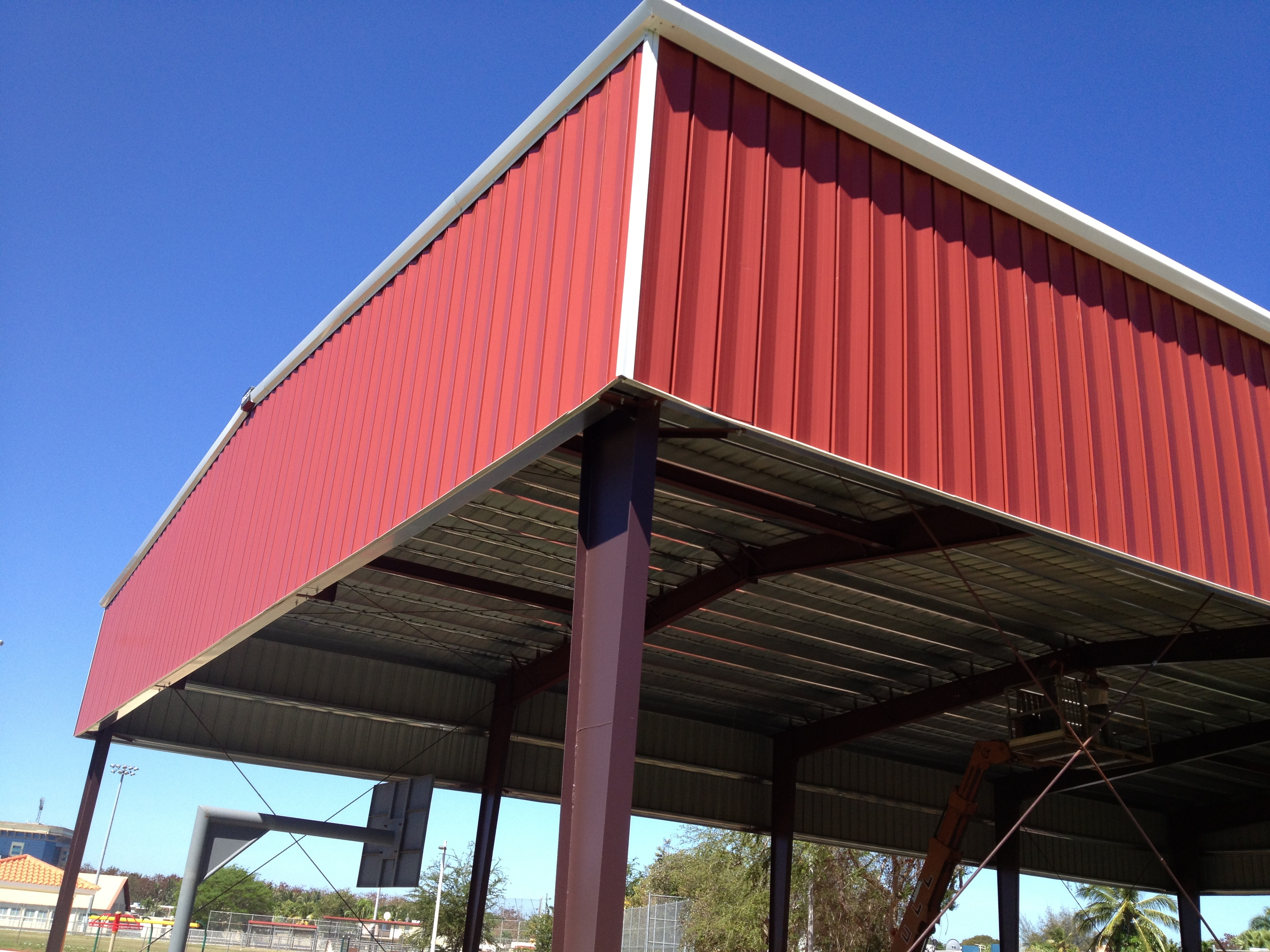 Steel Structure / Roof Covering
