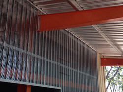 Panel perforado