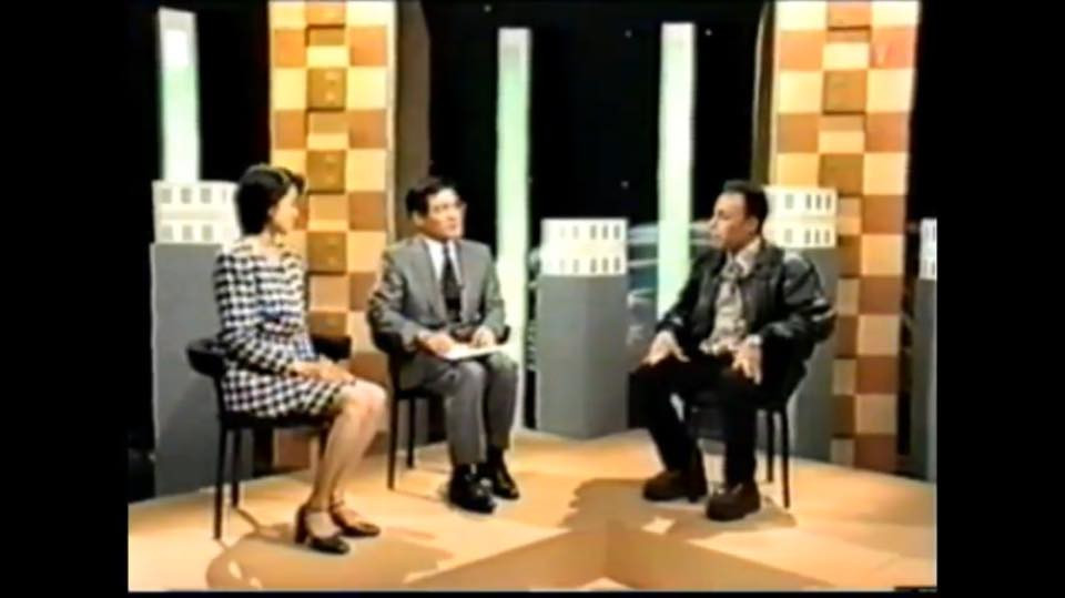 Simko at hard talk programe, NHK BS22