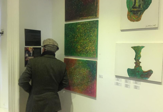 Solo show in London 2017