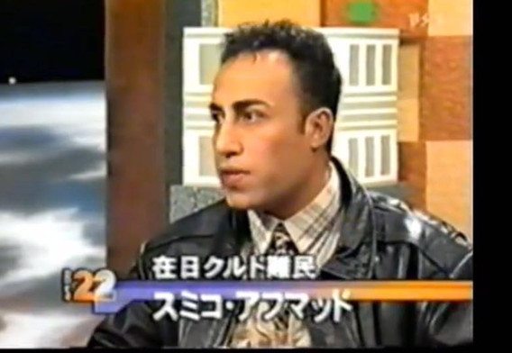 Simko at hard talk programe, NHK BS22