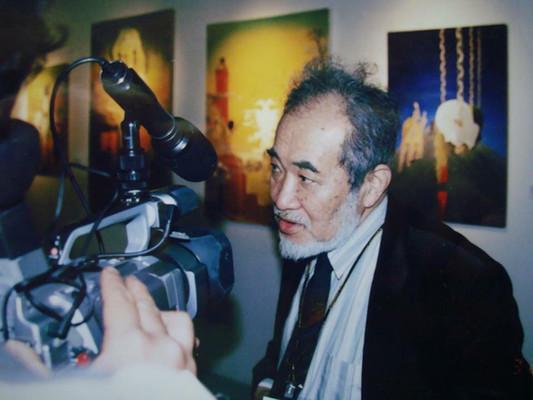 Harui Ichiro talks about Simko 's work