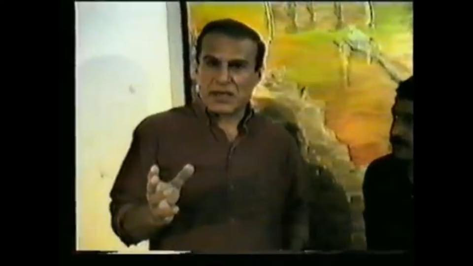 "Ali Latif at Simko""s show Kurdistan 1994"