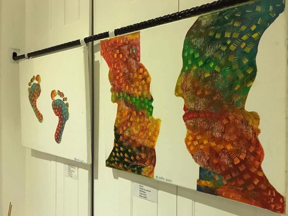 art show in London