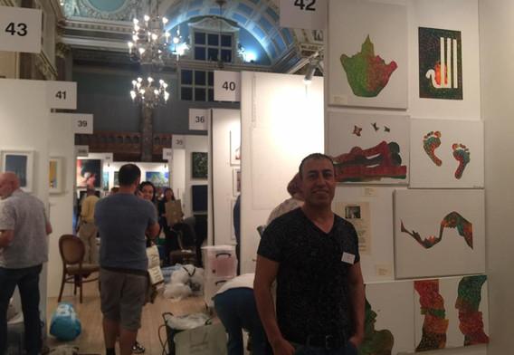 parralax art show London 2016