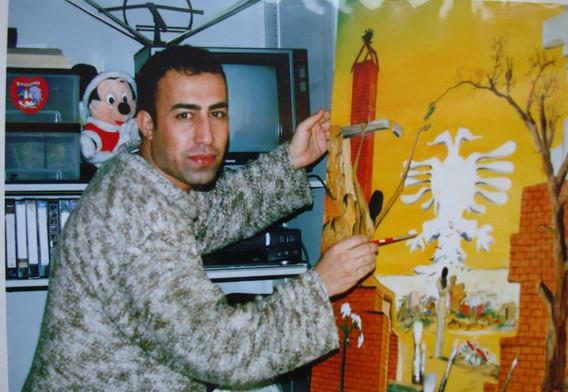 simko at his studio in Japan