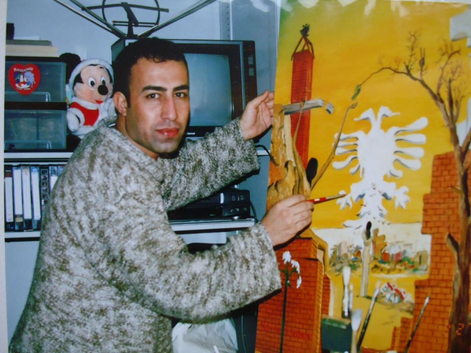 simko at his studio in Japan