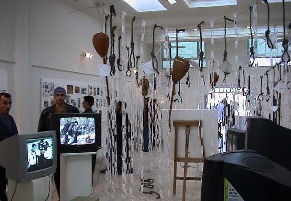 white kite, solo show 2003