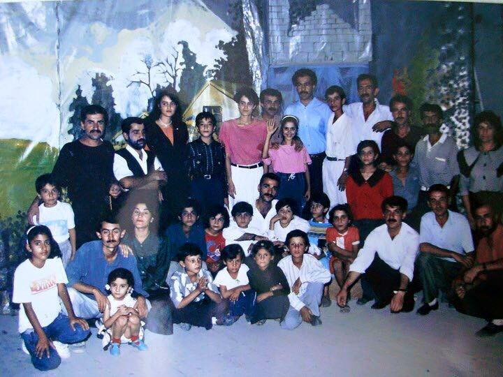 stage design for Nina Theater 1994 Kurdistan