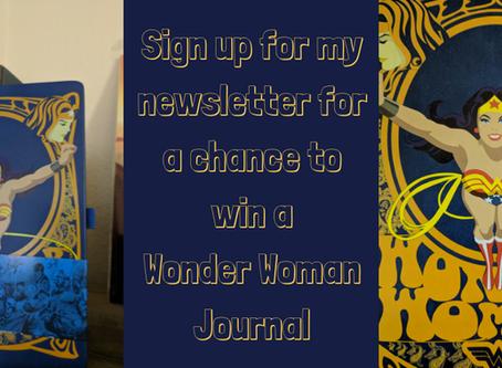 Newsletter Wonder Woman Giveaway