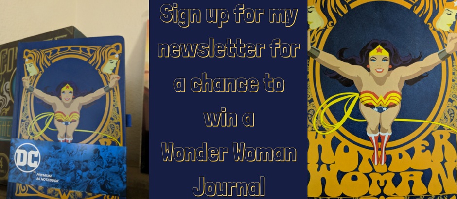 Newsletter Wonder Woman Giveaway