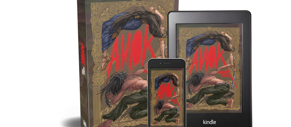 Cover Reveal: Amok