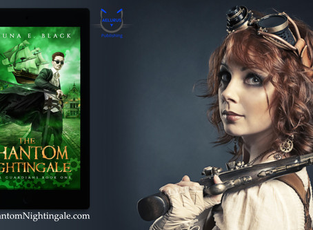 The Phantom Nightingale Blog Tour and Random Interview