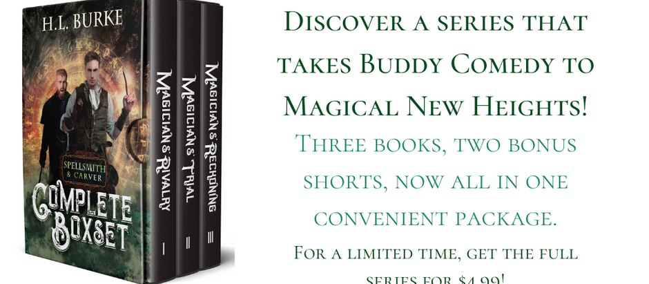 Now Available: Spellsmith & Carver Boxset!