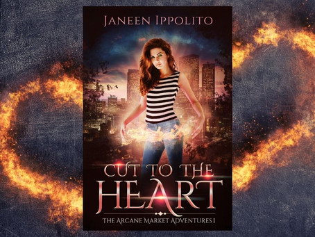 Cover Reveal: Cut to the Heart