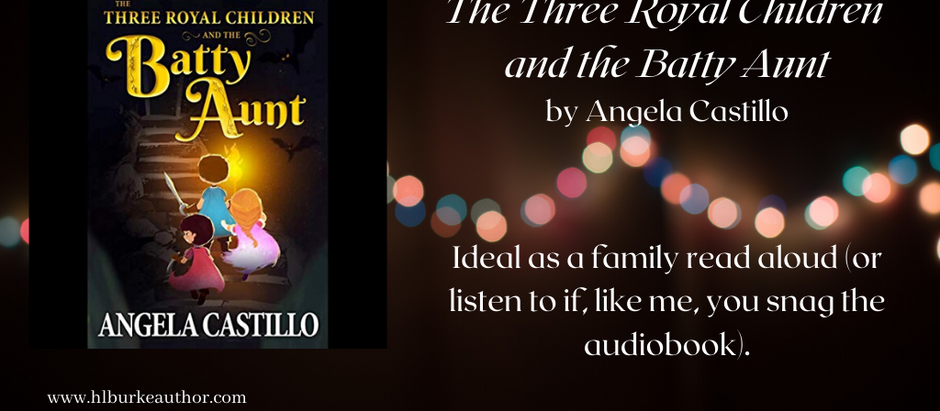 Audiobook Review: The Three Royal Children and the Batty Aunt