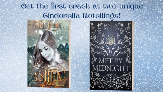 Ashen and Met by Midnight ARCs!