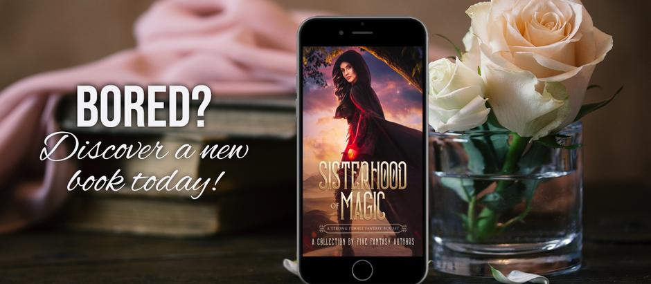 Release Day: Sisterhood of Magic