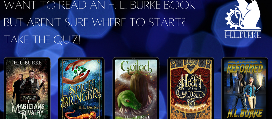 Which of my books should you read next (A QUIZ!)?
