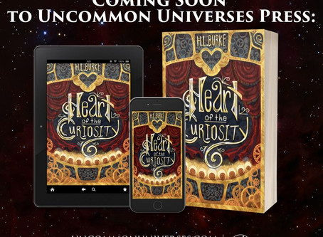 Heart of the Curiosity: COVER REVEAL